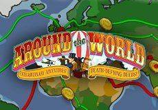 Around the World Slots  (Microgaming) GET 50 FREE SPINS NO DEPOSIT